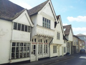 A location for my historical novels - period buildings in Saffron Walden